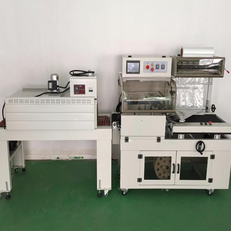 规格定制直线进料 热缩膜封口机 滚轴传送热收缩包装机 蛋托包膜机