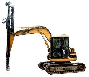 厂家挖机改钻机,挖改液压钻机