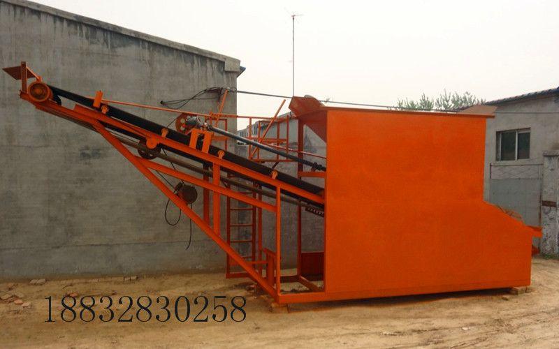 供应小型滚筒型筛沙机 工地用筛沙机