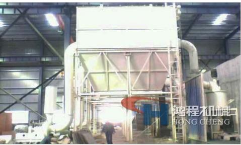 桂林鸿程 HCH超细环辊磨粉机 1000目高细微粉磨粉机超细磨粉机