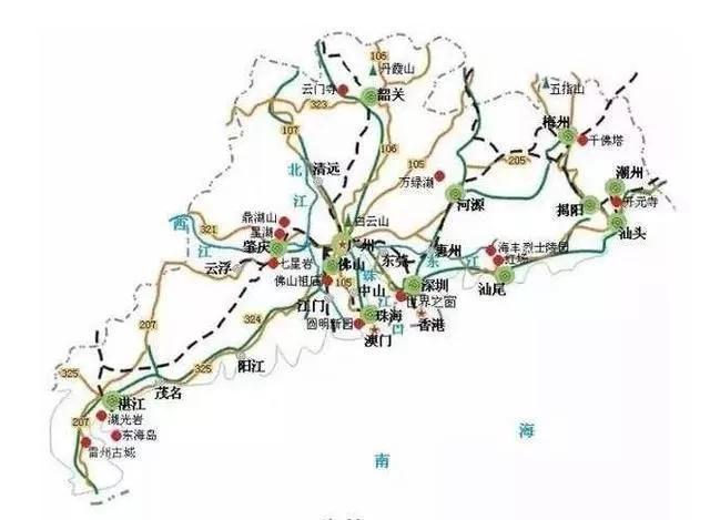 广东开建全球最长滨海公路 全长1875公里耗资1300亿