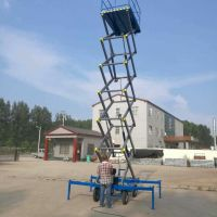 漯河500KG液压升降平台升降机定制厂家直销