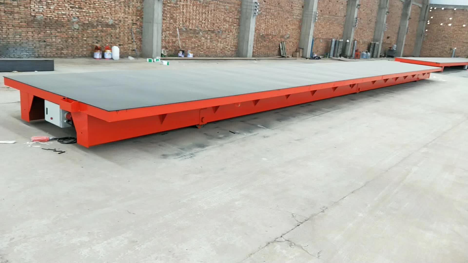 大尺寸蓄电池电动平车生产厂家—西安天成重工