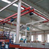 西安渭南行吊厂家-柔性双梁悬挂kbk起重机生产制造
