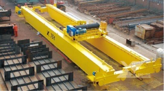 陕西榆林厂家制造—75T欧式起重机安装维修