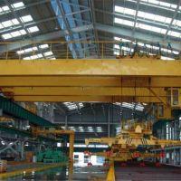 福泉生产制造下旋转伸缩挂梁电磁桥式起重机技术参数-