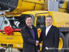 马尼托瓦克格鲁夫GMK6300L全地面起重机成功交付南京藤野公司!