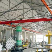 西安行车供应1-10吨手动单梁悬挂起重机设计研发生产销售