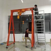 中山定制各种尺寸遥控升降移动龙门架 简易龙门钢制龙门架