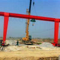 宁波海曙区门式起重机吊装安装现场