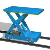 西安起重机厂家销售供应—-轨道式液压升降平台