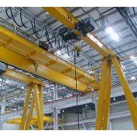 江西九江行车厂家生产销售欧式半龙门起重机