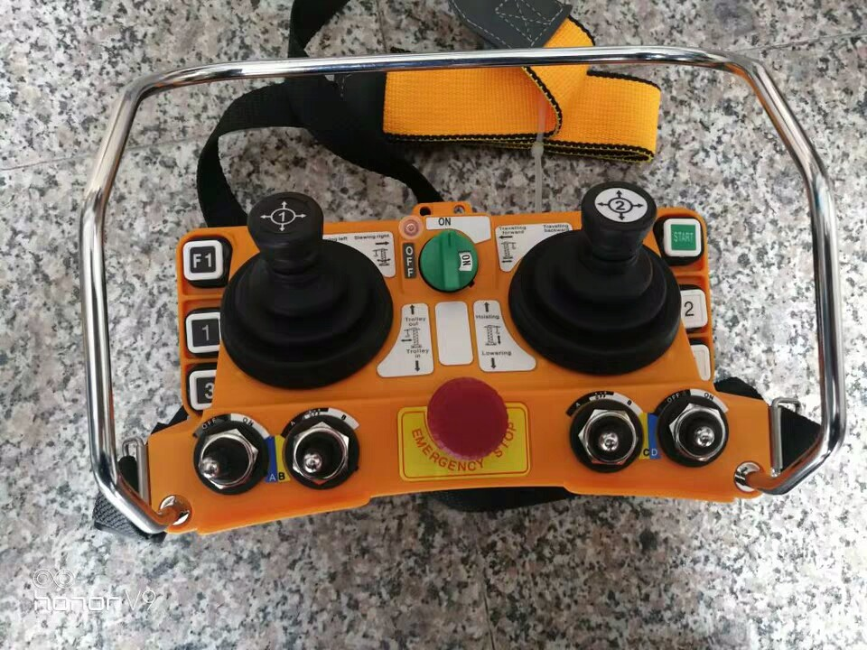 西安销售F24-60摇杆式遥控器双梁遥控器