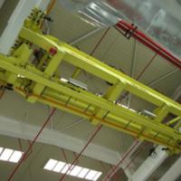 西安起重机厂家销售-过轨式上部运输系统