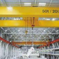 西安起重机厂家销售-欧式50吨双梁起重机