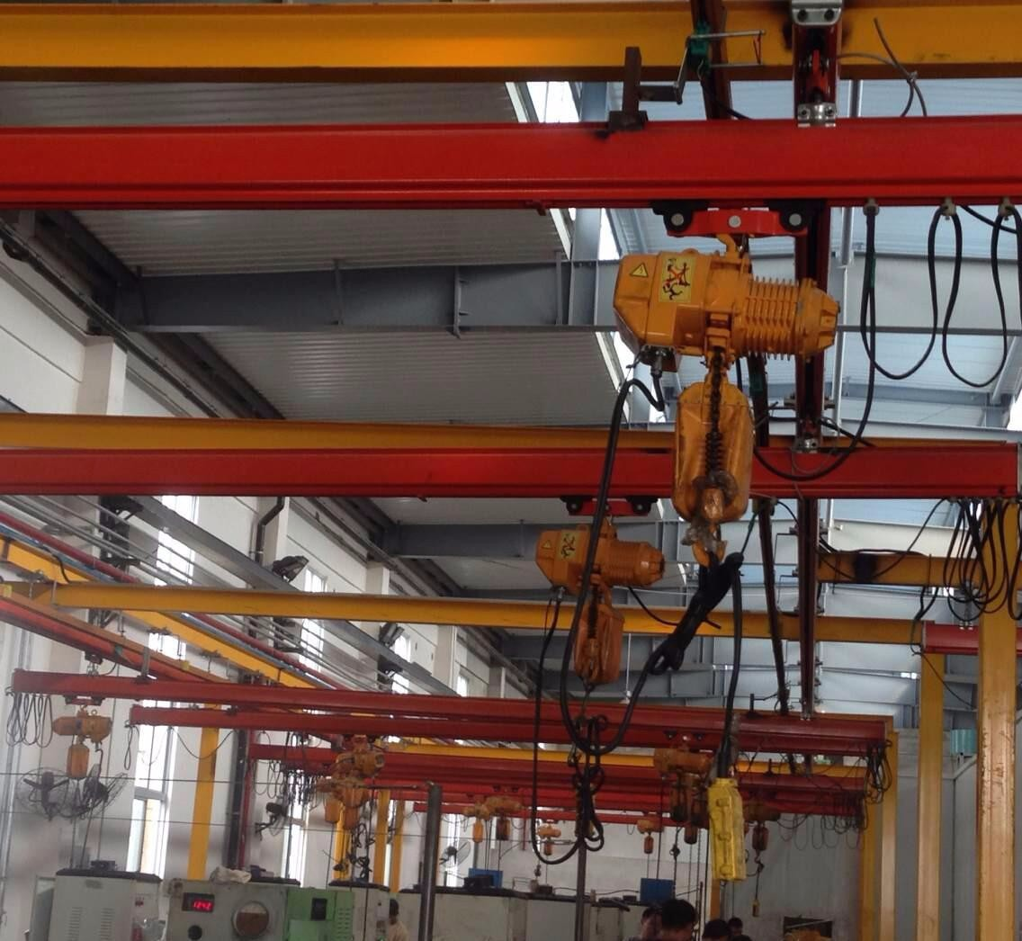 陕西西安起重机厂家销售KBKDMG柔型悬挂起重机
