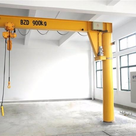 陕西西安起重机厂家生产定制各种吨位立柱式悬臂吊