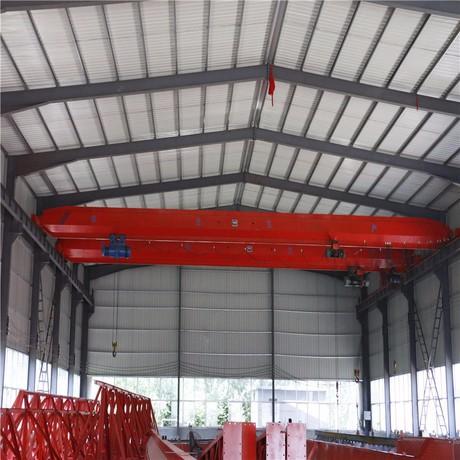 陕西西安起重机厂家生产定制电动葫芦双梁起重机
