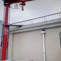 西安航吊起重机厂家专业生产液压升降悬臂吊一站式服务