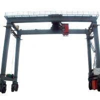杭州起重机--MJ轮胎式集装箱门式起重机