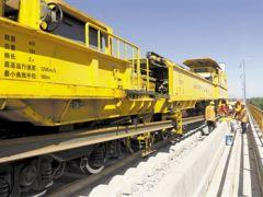 银西铁路最长特大桥正式铺轨 未来甘宁段与银吴段将实现接轨
