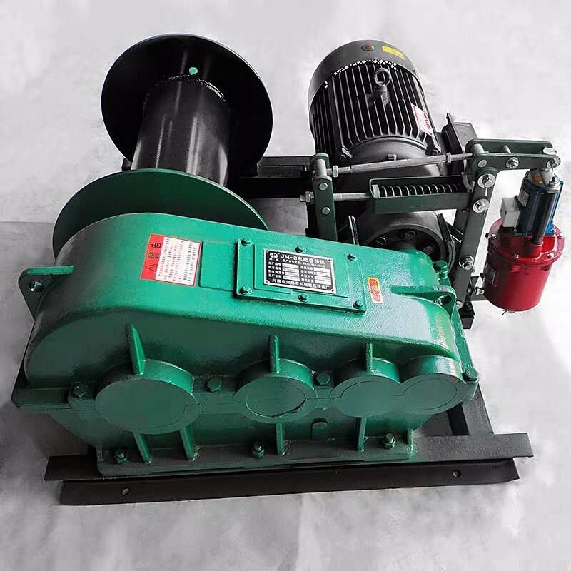 西安销售JK/JM电动卷扬机1/2/3/5吨快速建筑起重机