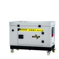 小型箱体式8千瓦汽油发电机