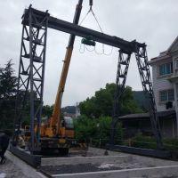 杭州起重机--临安区龙门吊安装完成