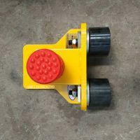 实拍!通用型200轮矩形方管梁头防脱轨产品实物图