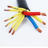 南通海门起重机运行供电电缆线3X6+6X1.5双钢丝绳扁电缆