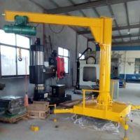 杭州起重机--立柱移动式悬臂吊