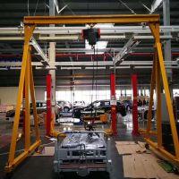 天津起重机厂销售0.2t-2t移动龙门吊