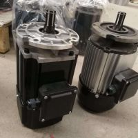 河南葫芦跑车运行0.4KW软启动电机小盘