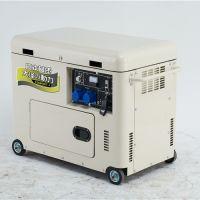 5KW移动式小型柴油发电机
