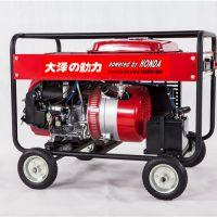 单相190A汽油发电电焊机