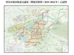 国家发改委批复西安城市轨交第三期建设规划 总投资近969亿!