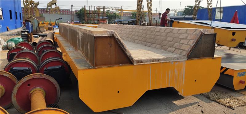 供应广西圣龙钢铁的KPJ100T电动平车法兰克生产制造
