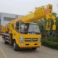 建筑吊装专用10吨吊车 双节腿10吨汽车吊 济宁吊车厂家