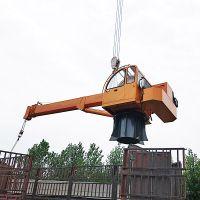 海口船舶甲板船吊生产厂家 16吨船吊价格 浮船吊克令吊