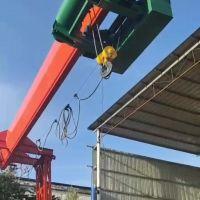 银川10吨低净空龙门吊起重机厂家