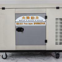 便携式20KW双缸柴油发电机