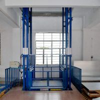 宁波导轨式升降货梯