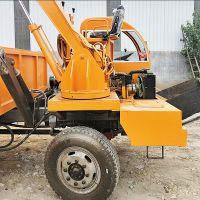 装挖一体式四不像随车挖价格 厂家改装四不像挖掘机 自制带斗挖