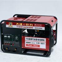 300A发电电焊两用机高原型