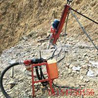 70型气电联动潜孔钻机小型气动凿岩机打岩石钻进快