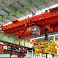 湖北武汉双梁桥式带司机室起重机行车—豫正重工集团武汉分公司
