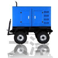 拖拉式400A发电电焊机柴油