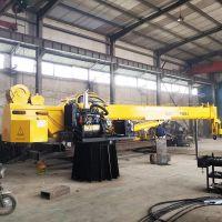 厂家促销长江流域农用渔船甲板自制液压控制随船吊起重机小型吊机