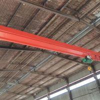 杭州起重机--杭州市西湖区LDA型电动单梁起重机安装完成