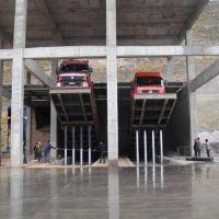 新疆喀什液压翻板卸车平台直销